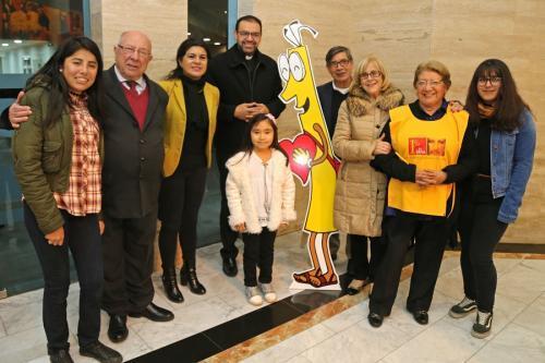 En Fiesta del Buen Pastor lanzan campaña del 1% para Santiago